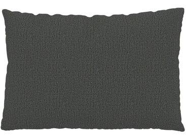 Coussin Gris Pierre - 40x60 cm - Housse en Tissu grossier. Coussin de canapé moelleux