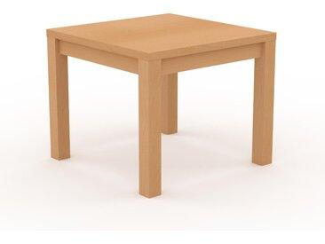 Table - Hêtre, contemporaine, de qualité, avec cadre Hêtre - 90 x 76 x 90 cm, personnalisable