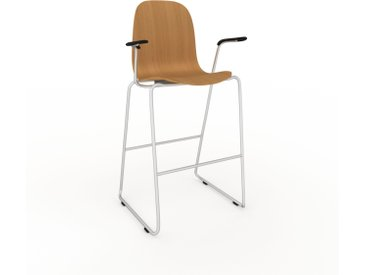 Chaise de bar Chêne de 49 x 113 x 62 cm au design unique, configurable