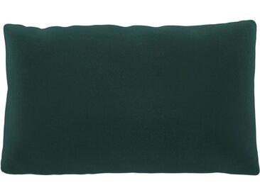 Coussin Bleu Glacier - 30x50 cm - Housse en Velours. Coussin de canapé moelleux
