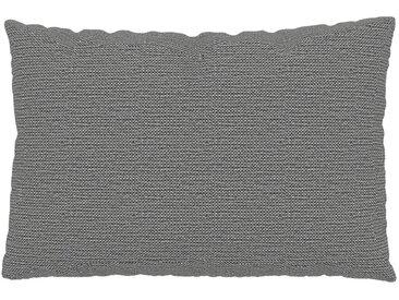 Coussin Blanc Granite - 40x60 cm - Housse en Tissu grossier. Coussin de canapé moelleux