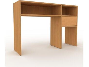 Table console en chêne, bois certifié, design scandinave, pour chambre ou entrée sophistiquée - 116 x 80 x 35 cm, personnalisable
