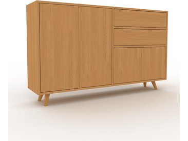 Enfilade - Chêne, design, buffet, avec porte Chêne et tiroir Chêne - 152 x 91 x 35 cm