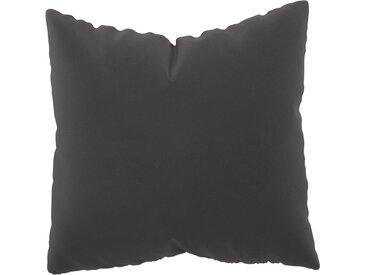 Coussin Grège - 50x50 cm - Housse en Velours. Coussin de canapé moelleux