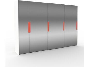 Dressing - portes coulissantes miroir, design, armoire penderie pour chambre ou entrée, haute qualité - 354 x 233 x 65 cm, modulable