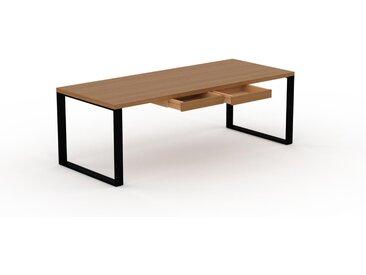 Bureau - Chêne, moderne, table de travail, avec tiroir Chêne - 220 x 75 x 90 cm, modulable
