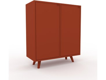 Enfilade - Terra cotta, modèle de caractère, buffet, avec porte Terra cotta - 79 x 91 x 35 cm, modulable