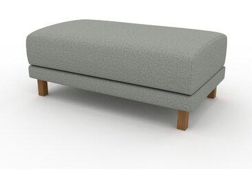 Pouf - Gris ardoise, design épuré, 100 x 42 x 60 cm, modulable