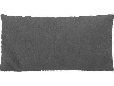 Coussin Gris Taupe - 40x80 cm - Housse en Tissu grossier. Coussin de canapé moelleux