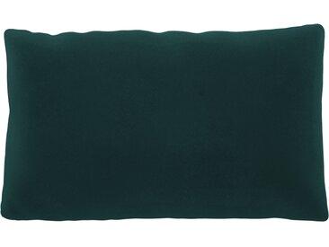 Coussin Vert Océan - 30x50 cm - Housse en Velours. Coussin de canapé moelleux