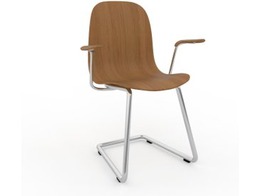 Chaise cantilever Chêne de 49 x 83 x 62 cm au design unique, configurable