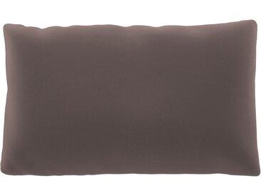 Coussin Rose Poudré - 30x50 cm - Housse en Velours. Coussin de canapé moelleux