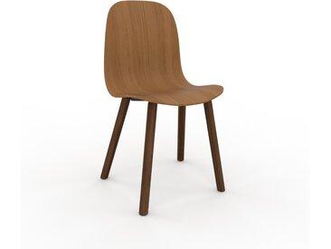 Chaise en bois Chêne de 49 x 83 x 43 cm au design unique, configurable