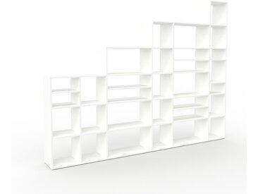 Placard - Blanc, design, rangements solide, de qualité, pratique - 306 x 233 x 35 cm, modulable