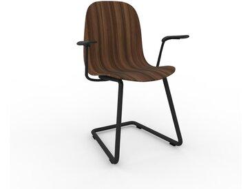 Chaise cantilever Noyer de 49 x 83 x 62 cm au design unique, configurable