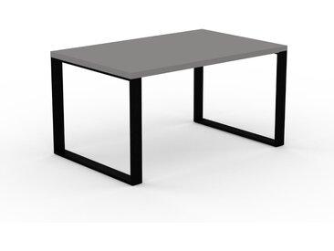 Bureau - Gris, design contemporain, table de travail, fonctionnelle - 140 x 75 x 90 cm, modulable