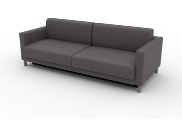 Canapé convertible - Gris gravier, design épuré, canapé lit confortable, confortable avec coffre de rangement - 224 x 75 x 98 cm, modulable
