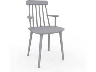 Chaise avec accoudoirs Gris clair de 43 x 82 x 53 cm au design unique, configurable