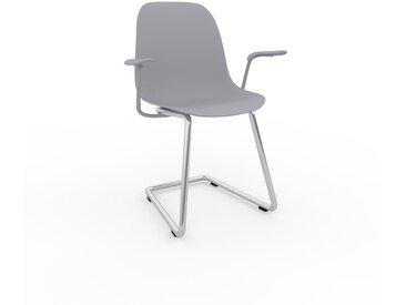 Chaise cantilever Gris clair de 49 x 82 x 62 cm au design unique, configurable