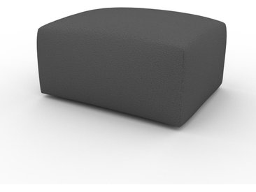 Pouf - Anthracite, design épuré, 80 x 42 x 64 cm, modulable