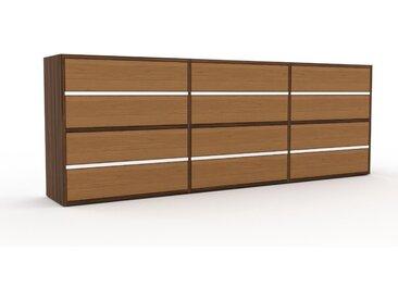 Commode - Chêne, pièce de caractère, sophistiquée, avec tiroir Chêne - 226 x 80 x 35 cm, personnalisable