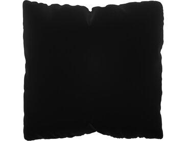 Coussin Gris Pierre - 40x40 cm - Housse en Velours. Coussin de canapé moelleux