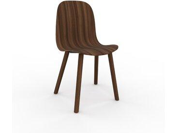 Chaise en bois Noyer de 49 x 83 x 43 cm au design unique, configurable