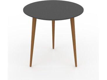 Table basse - Anthracite, ronde, design scandinave, petite table pour salon élégante - 50 x 50 x 50 cm, personnalisable