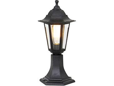 Lampe d'extérieur romantique noire 42 cm IP44 - New Haven