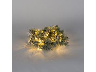 Lumières de Noël daiiak Neige LED blanc chaud 1,5 mètre