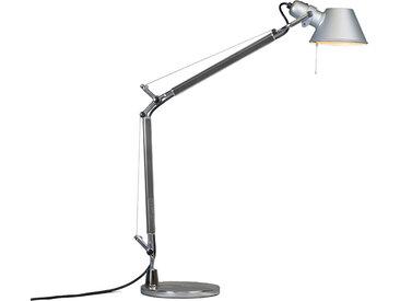Lampe de table Artemide aluminium réglable - Artemide Tolomeo Tavolo Mini