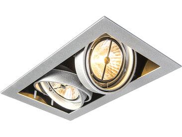 Spot encastrable rectangulaire en aluminium - Oneon 111-2