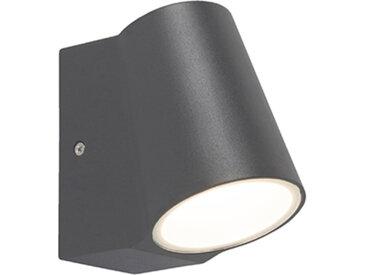 Lampe d'extérieur anthracite avec capteur clair-foncé avec LED - Uma