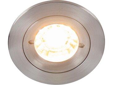 Spot encastrable moderne en aluminium IP44 - Xena Round