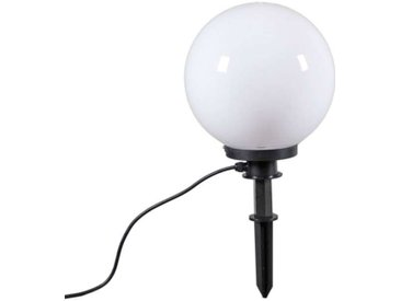 Lampe d'extérieur moderne avec broche de masse 30 cm IP44 - Ampoule