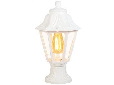 Lanterne d'extérieur rurale blanc IP44 - Anna