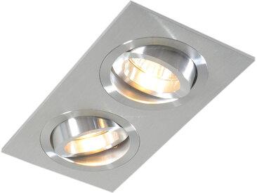 Spot encastré en aluminium inclinable - Serrure 2
