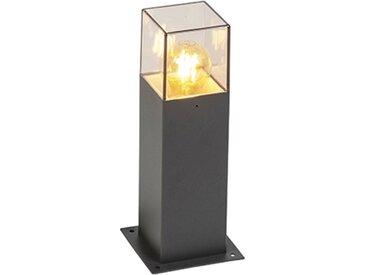 Lampe d'extérieur moderne 30 cm anthracite IP44 - Danemark