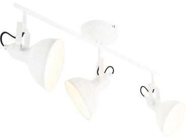 Spot industriel blanc 3 lumières - Tommy