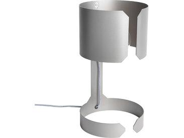 Lot de 2 lampes de table design acier mat - Valse