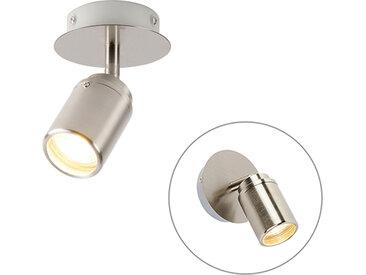 Spot de salle de bain moderne en acier IP44 - Ducha