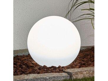 Lampe d'extérieur moderne avec broche de sol 25 cm avec LED sur solaire IP44 - Lago