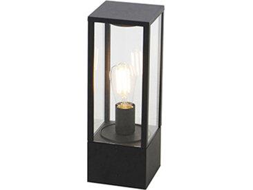 Lampe d'extérieur industrielle noire 40 cm IP44 - Charlois