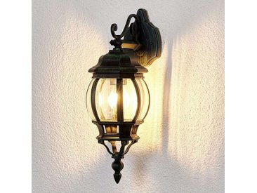Lampe d'extérieur romantique noir IP44 - Theodor