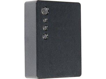 Interrupteur crépusculaire monté en surface noir