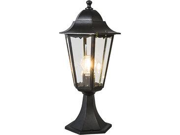 Lanterne d'extérieur classique base noire IP44 - New Orleans