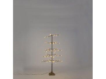 Lumières de Noël sapin neige LED blanc chaud 1,2 mètre