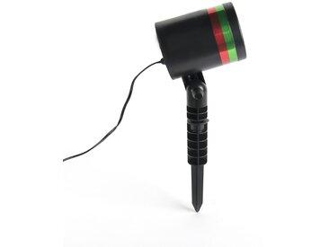Lumières de Noël projecteur laser LED rouge et vert 9 positions