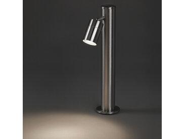 Lampe d'extérieur moderne acier 45 cm réglable - Solo