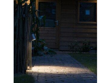 Lampe d'extérieur sur pied moderne en aluminium avec LED - Uma